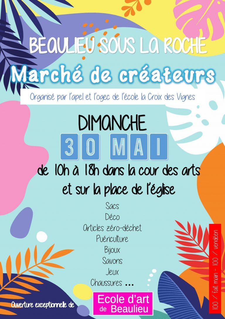marche-de-createurs-beaulieu-sous-la -roche-vendee-artisanat-fait-main-fileuse-d-histoires-tapis-a-histoires